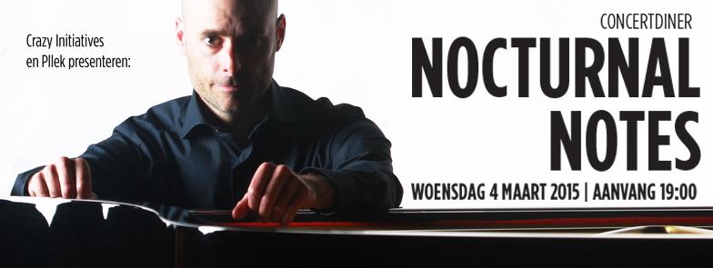 Nocturnal Notes 4 maart 2015 Pllek - header